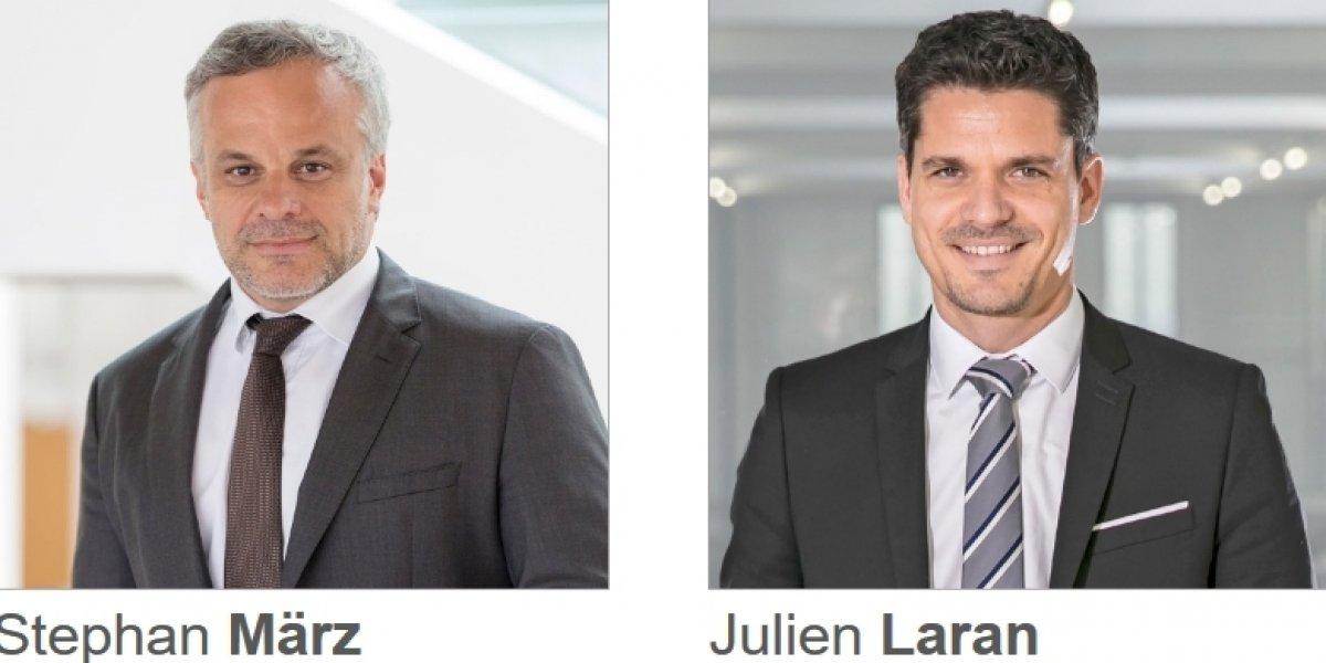 Stephan März et Julien Laran