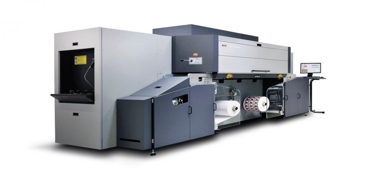 Nouvelle presse Durst jet d'encre UV RSC-E