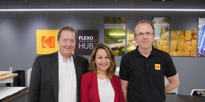 Le FlexoHub de Kodak à Bruxelles