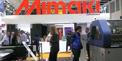 Le stand Mimaki à Fespa